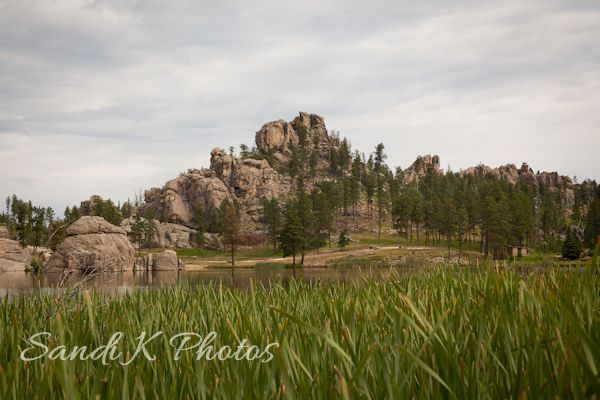 Sylvan Lake, Custer State Park, South Dakota,