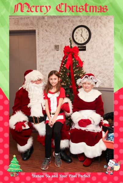 Santa pictures, station 56, Madisonville, giving back, 570, nepa, skp