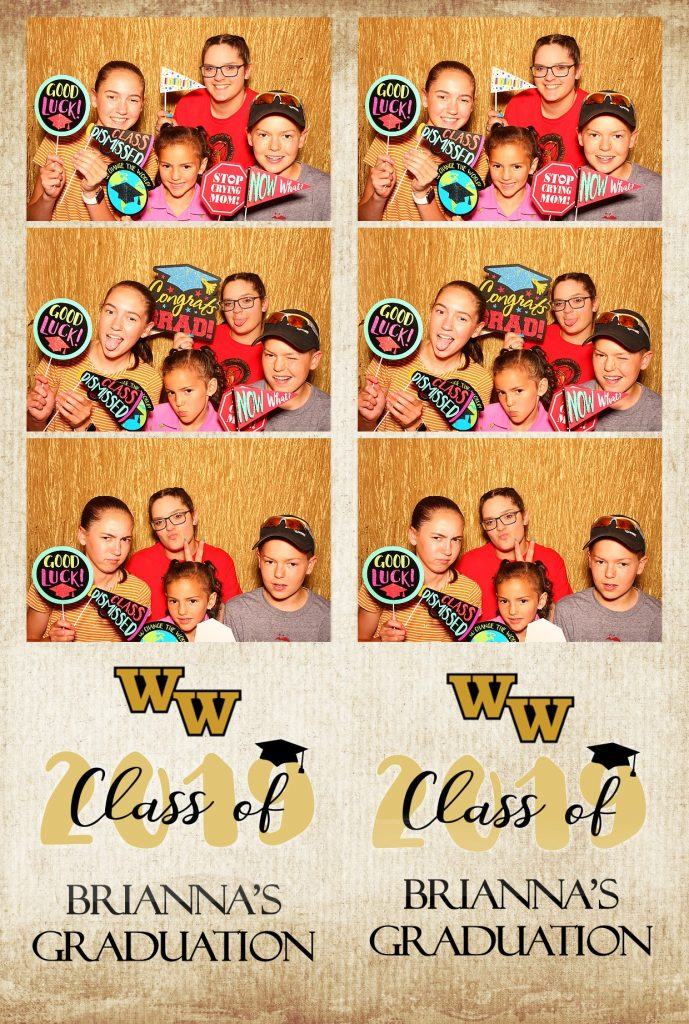 photo booth rental graduation party